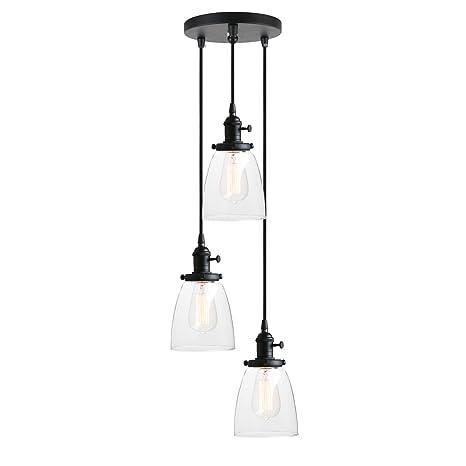 Pathson 3 Lights Pendant Lighting Bathroom Vanity Light Fixtures