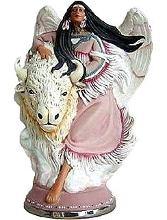 Native Standing Angel 9 Ceramic Bisque