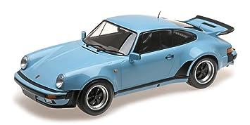 "Minichamps 125066105 ""1977 Porsche 911 Turbo - Kit de Modelo, Escala 1:"
