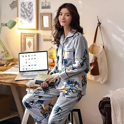 OLLIUGE Pijamas para Mujer Ropa De Dormir Batas Mujer Conjunto De Pijamas Camisones Ropa De Noche