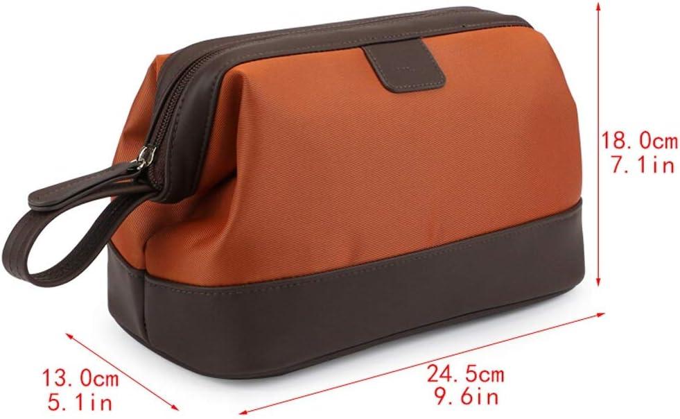 Business Large Capacity wash Bag Color : Gray Waterproof 245X180X130mm Storage Bag LiYao Mens wash Bag