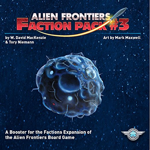 Alien Frontiers: Faction Pack 3 by Game Salute