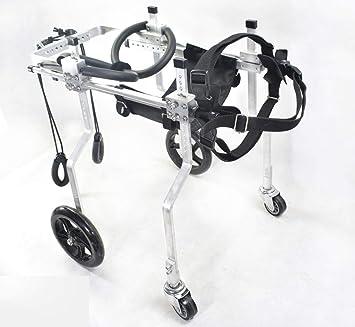 LLG-CWLY Silla de Ruedas para Mascotas Ajustable Scooter para Mascotas para Ayudar a Las