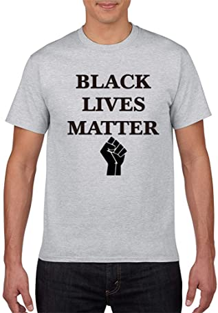 LALAWO Camiseta De Algodón, Camiseta Negra para Hombre De Lives Matter Multiple Choices XS - 5XL para Hombres, Mujeres Y Familias,Gris,XL: Amazon.es: Hogar