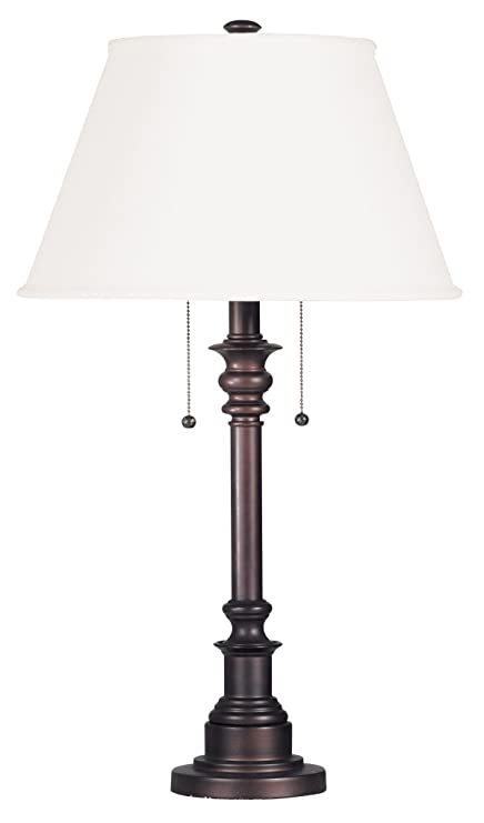 Superior Kenroy Home 30437BRZ Spyglass Table Lamp, Bronze