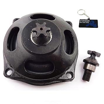 STONEDER T8F - Caja de Cambios para Tambor de 6 Dientes para Moto DE 47 CC y 49 CC: Amazon.es: Coche y moto