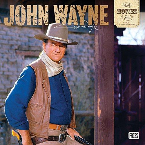 John Wayne in the Movies 2019 Calendar