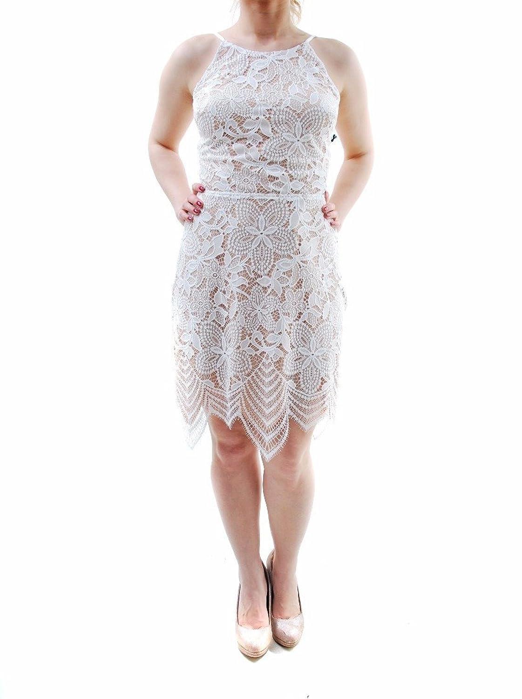 For Love & Lemons Women's Mini Sleeveless Dress White Size L
