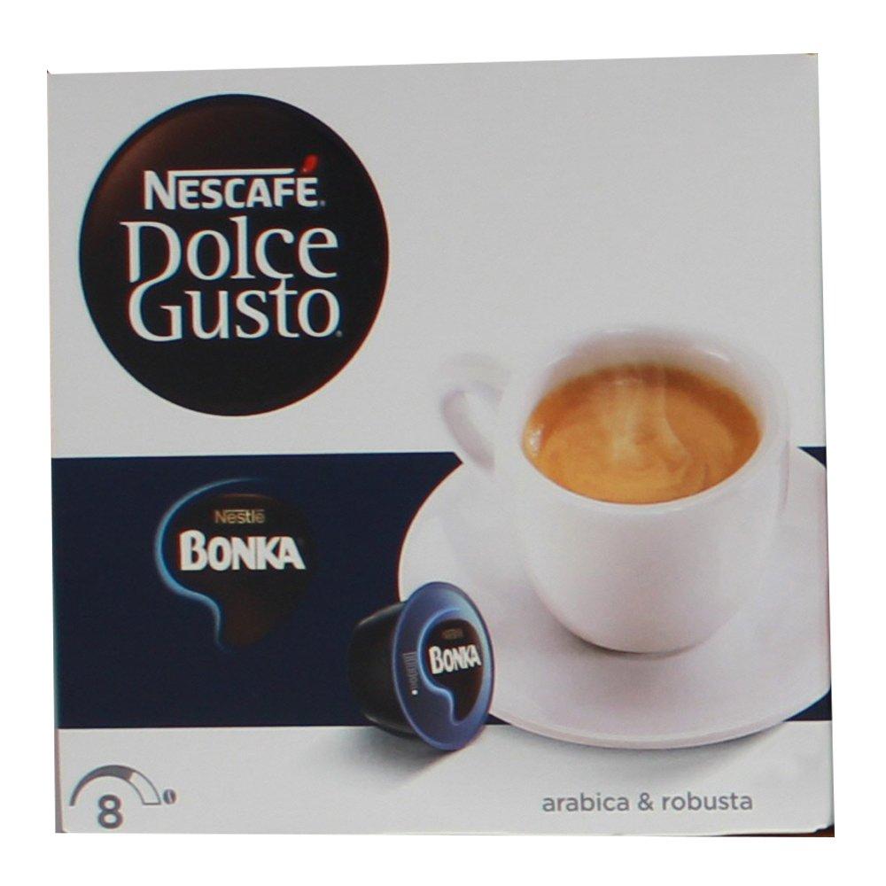 80 x Nescafé Dolce Gusto Bonka Espresso, Cápsulas de Café, Paquete Grande: Amazon.es: Alimentación y bebidas