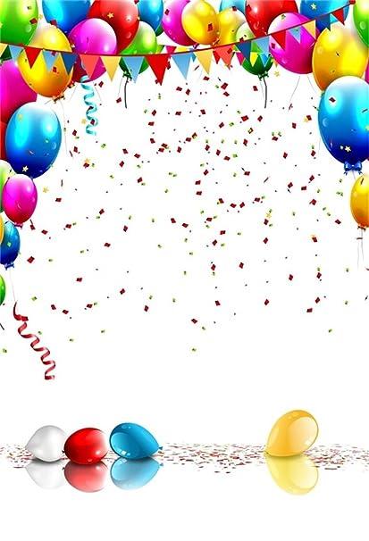 amazon com aofoto 3x5ft happy birthday background colorful