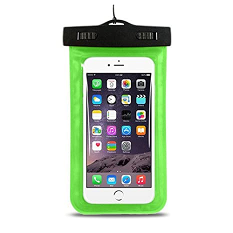 Demarkt Funda Bolsa Móvil Impermeable Universal 6 Pulgadas Certificado IPX8 Funda Sumergible Móvil Transparente Sensible al Tacto para iPhone 6 / ...