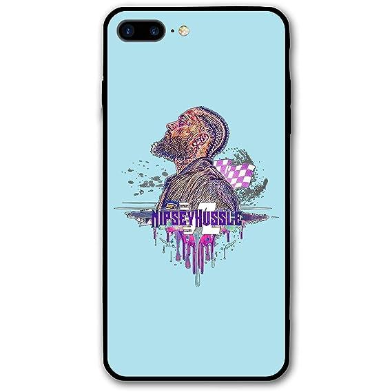 reputable site 18651 cca9f Amazon.com: Nipsey Hussle Phone Case for iPhone 7/8 Plus Case Slim ...