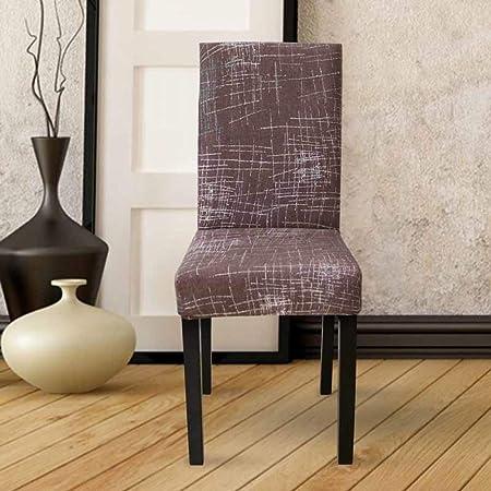 Elástica cubiertas protectoras fundas de asiento Decoración Silla de comedor silla Cubre Cubiertas