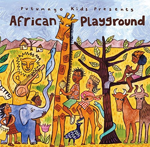 Putumayo Kids African Playground CD -