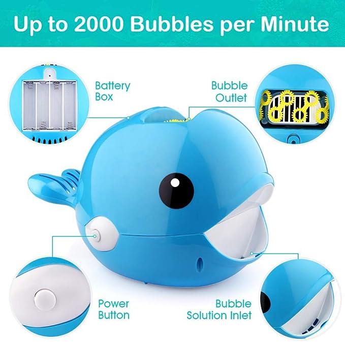 FairOnly Creador de Burbujas de Ballena automático Más de ...
