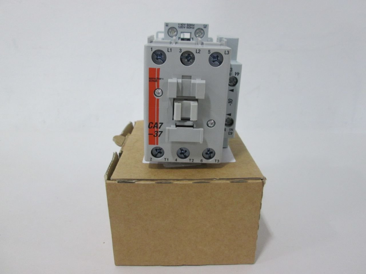 NEW SPRECHER+ SCHUH CA7-37-10 120V-AC 30HP 50A AMP CONTACTOR D329618