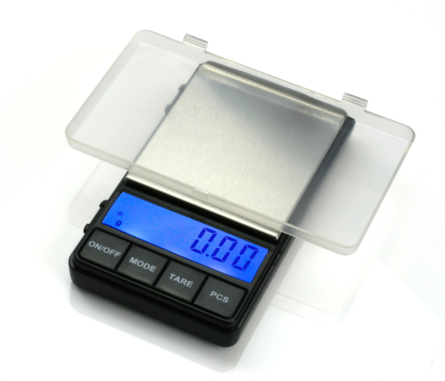 Next-shine Digital Pocket Scale 200 x 0.01 gram Kitchen Food Jewelry Weight Compact Tare Stainless Steel
