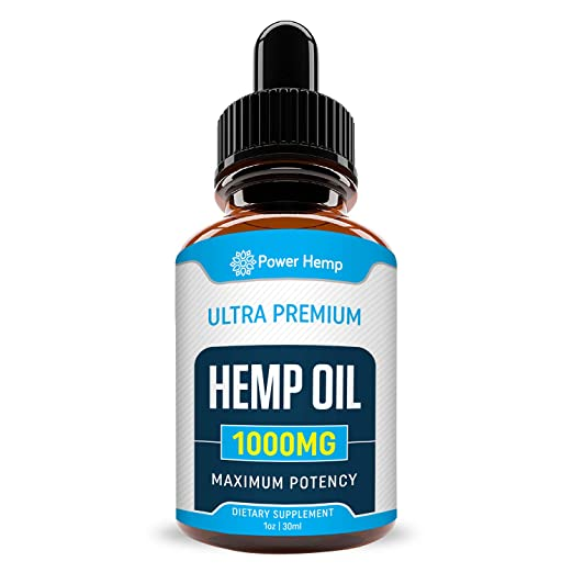 Amazon.com: Hemp Oil 1000mg Full Spectrum - for Pain Relief, Stress & Inflammation - Anti-Anxiety - Improves Mood, Sleep Patterns, Hair - Sans CBD: Health ...