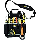 Melo Tough Professional Electric Tool Pouch Shoulder Tool Carrier with Multiple Pockets, Tool Organizer for Technician/ Maint