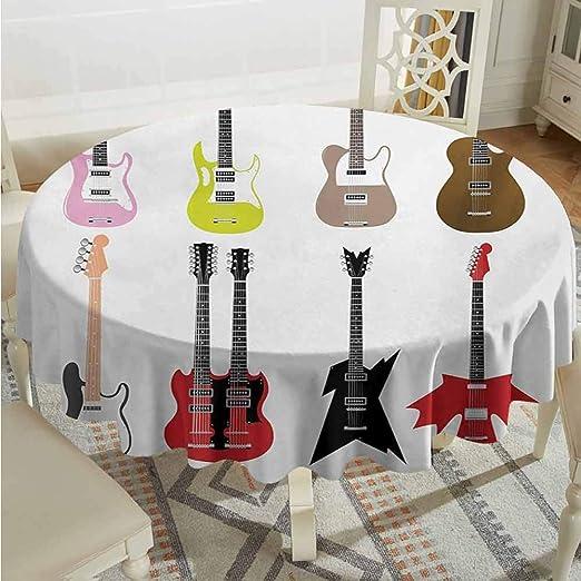 XXANS Mantel Redondo, diseño de Guitarra, composición Conceptual ...