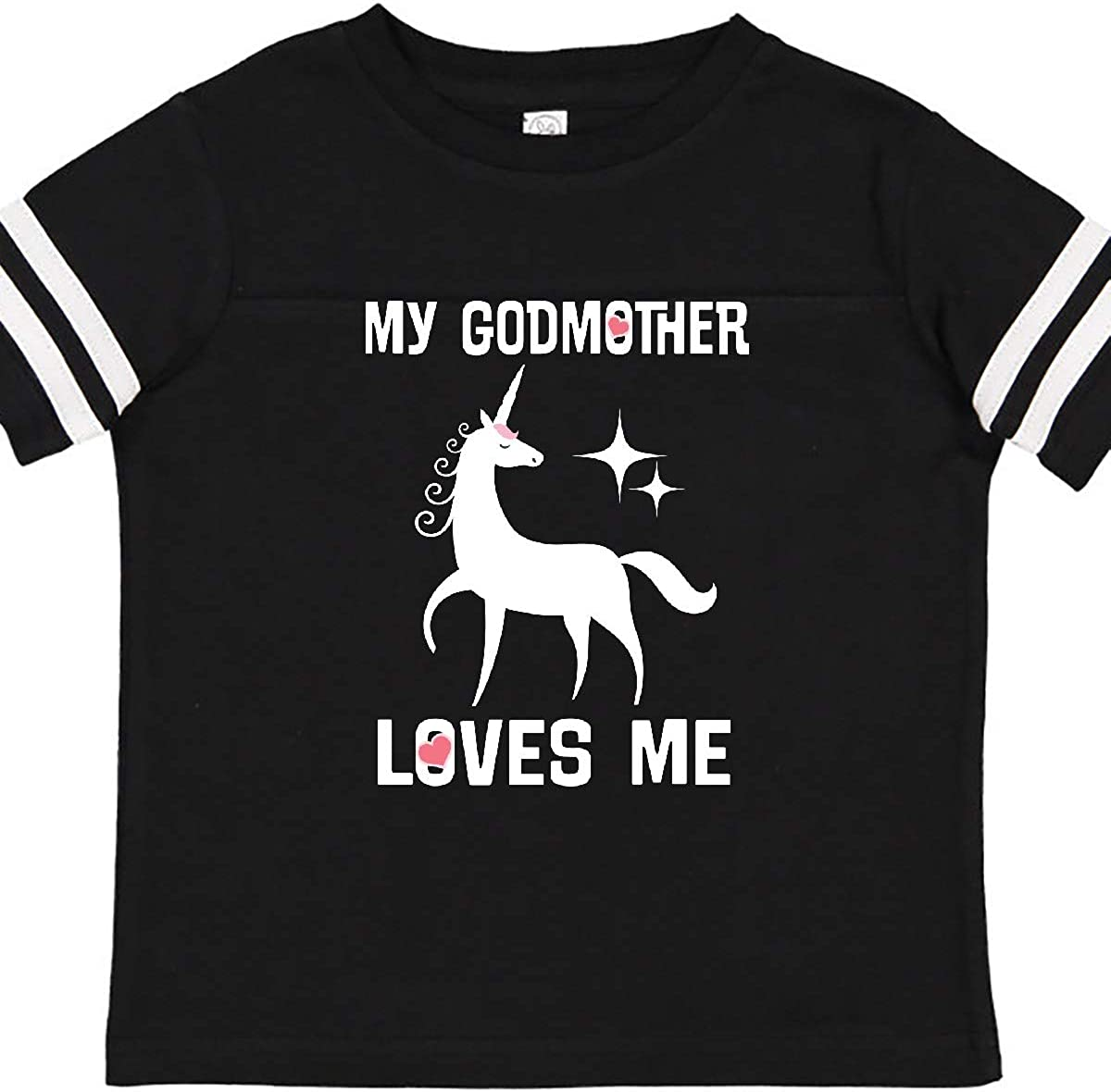 inktastic Godmother Loves Me Unicorn Toddler T-Shirt