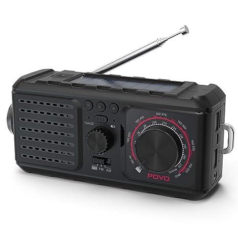 Amazon.com: 2019 manivela de emergencia para radio AM FM ...
