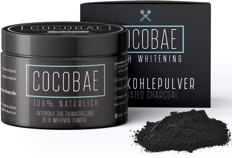 Platz 5 – COCOBAE® Teeth Whitening Aktivkohle Pulver