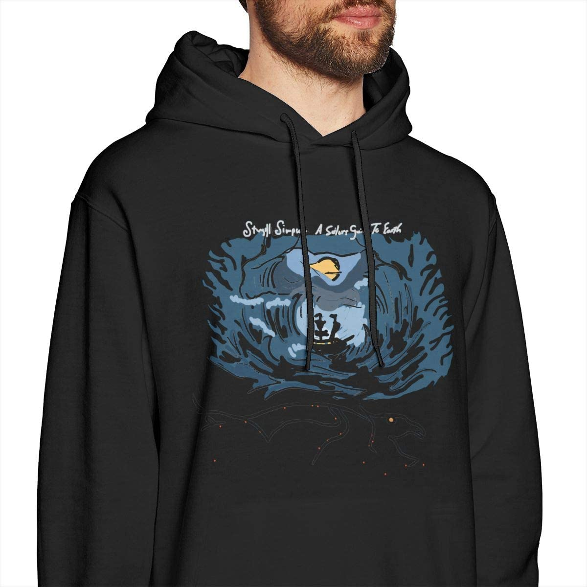 CyBlackwoodnara Mens Funny Sturgill Simpson Sweatshirt Black