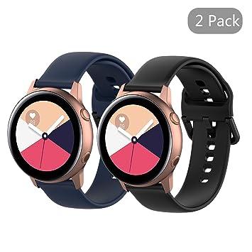 Amazon.com: Seltureone - Juego de 2 pulseras de silicona de ...