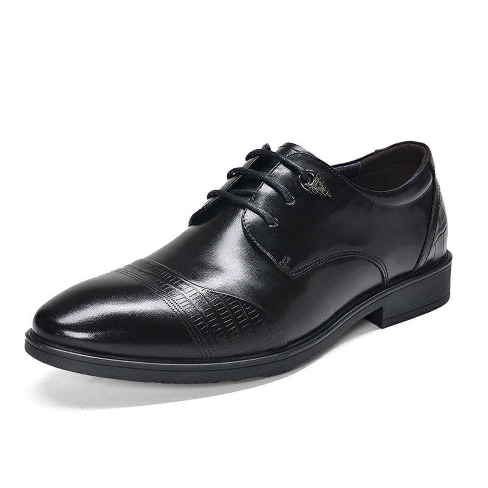 Männer - - - business casual schuhen, die männer lederschuhe, business casual schuhen, spitzen lederschuhe,schwarz,42 7da643