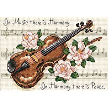 Dimensions Needlecrafts Counted Cross Stitch, Music Is Harmony