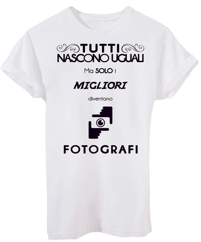 Divertente by IMAGE T-Shirt Mestieri LAVORI Solo I Migliori Diventano FOTOGRAFI
