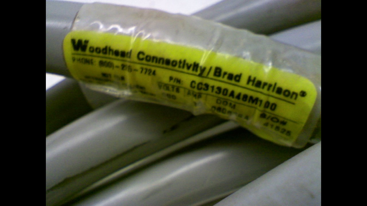 Brad Harrison Cc3130a48m100 Cordset 3 Pole M//F St//St 10 Meters Cc3130a48m100