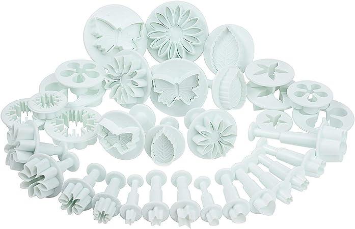 14 pezzi Set fai da te per modellare pasta di zucchero fondente e argilla