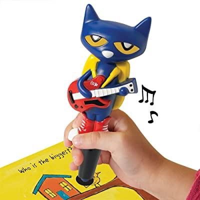 Educational Insights Hot Dots Jr. Pete The Cat Interactive Pen, Encourages Independent, Self-paced Learning, Ages 3 and Up: Toys & Games