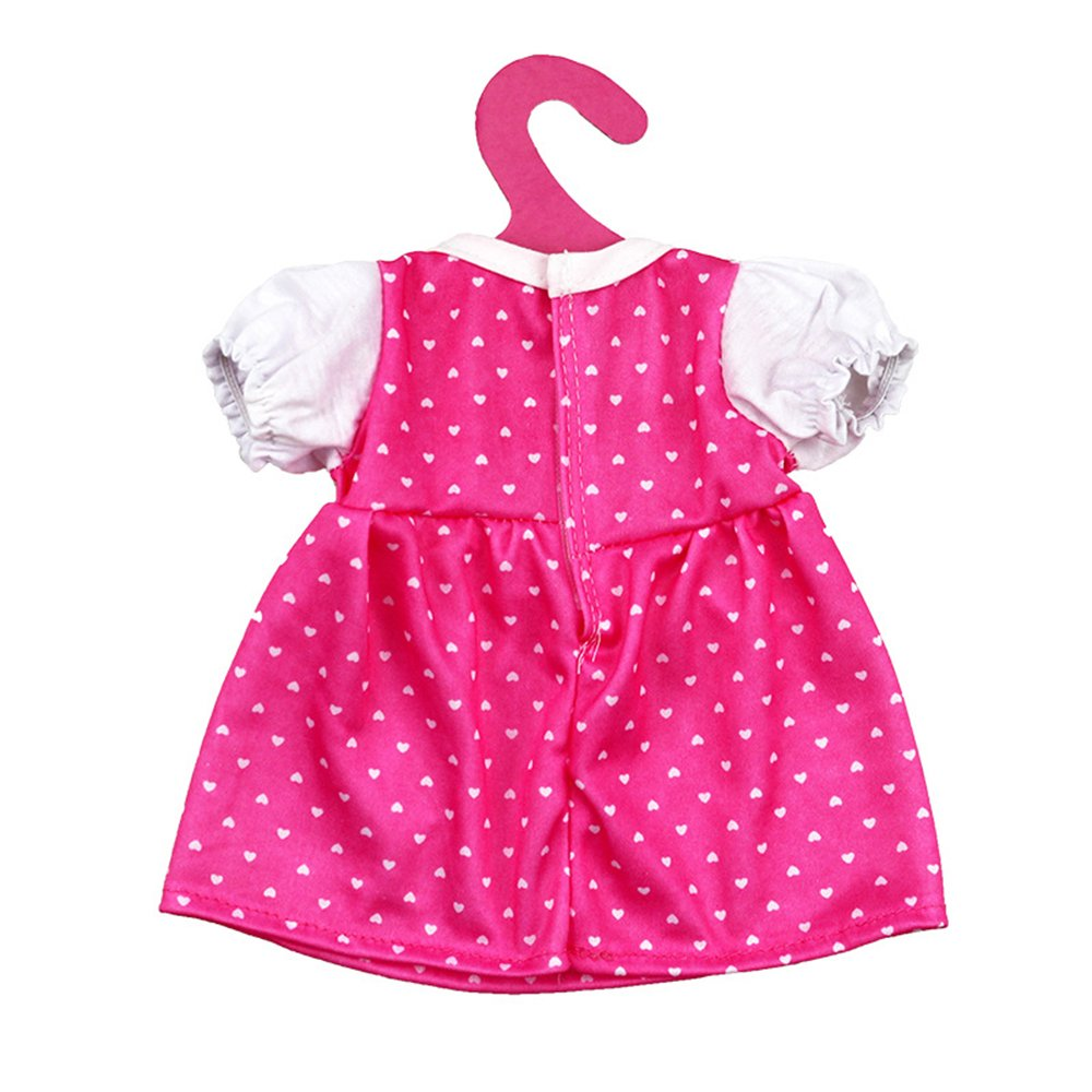Lance Home 4Sets Fashion Summer Clothes Dresses for 14-18 Inch BabyBorn Dolls American Girl Dolls And Other 14-18 Inch Dolls Newborn Dolls