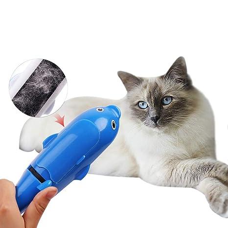 WFFHHAZH - Cepillo de Limpieza para Pelo de Perro o Gato, portátil ...