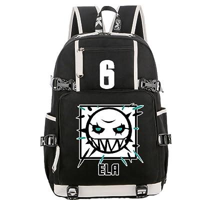 VOSTE Backpack Bag Cosplay School Black Oxford Cloth Bags (Color 5) | Kids' Backpacks