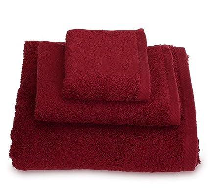 Toallas con Tres Juegos de Toallas de algodón Suave (Incluyendo una Toalla Cuadrada una Toalla