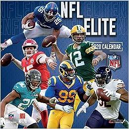 Best Nfl Team 2020.Nfl Elite 2020 Calendar Inc Lang Companies 0841622133789