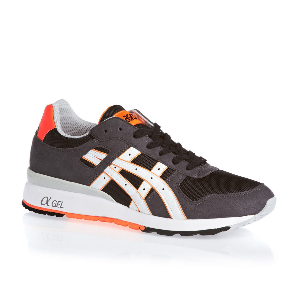 Asics GT-II, Zapatillas de Running Unisex Adulto 39.5 EU|Negro / Naranja