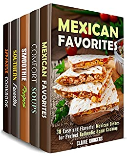 Tasty and Flavorful Box Set (5 in 1): Over 150 Recipes with Authentic Twist and Rich Taste to Spice Up Your Cooking (Spicy Authentic Cooking)