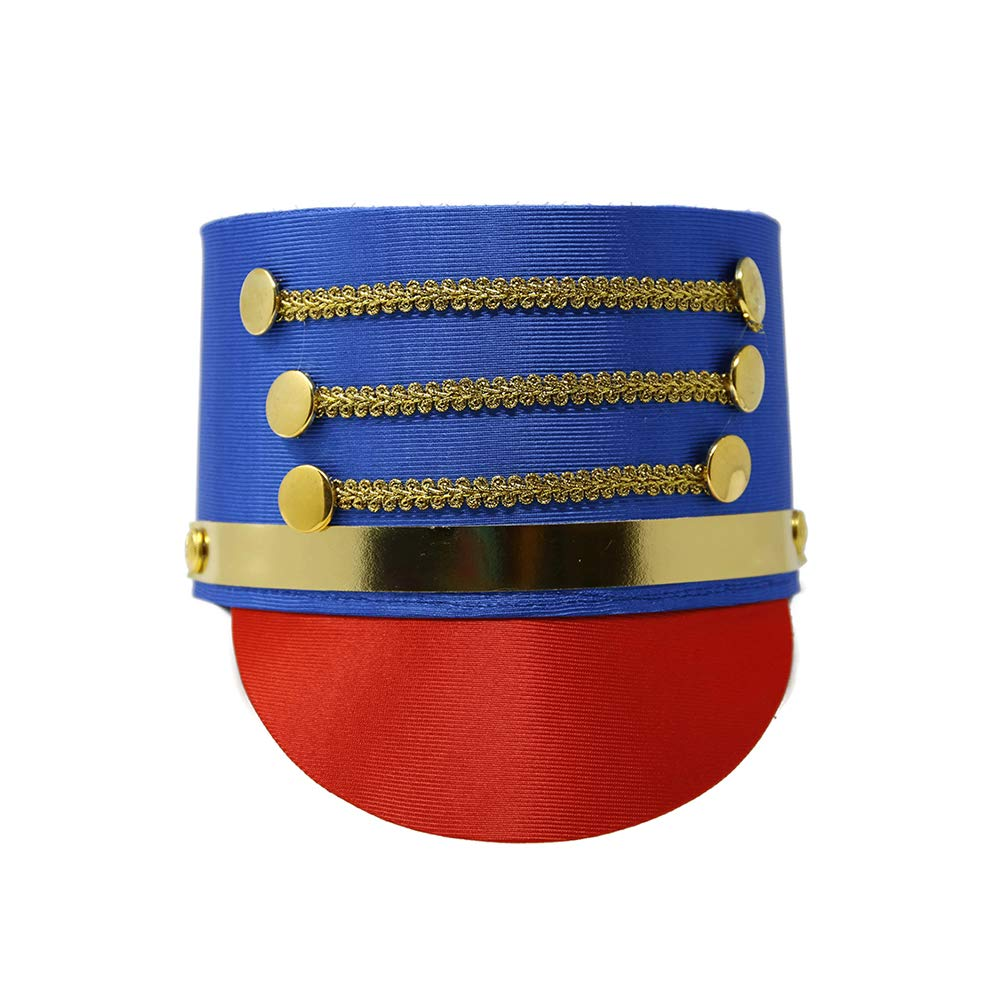 Costume Accessory - Toy Soldier Drum Hat Major Jacobson Hats 28702MCAO