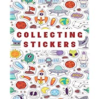 Collecting Stickers: Blank Permanent Sticker Book