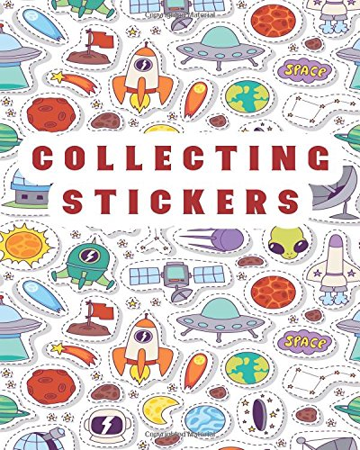 Sticker Book Glitter: Blank Sticker Book, 8 x 10, 64 Pages free download