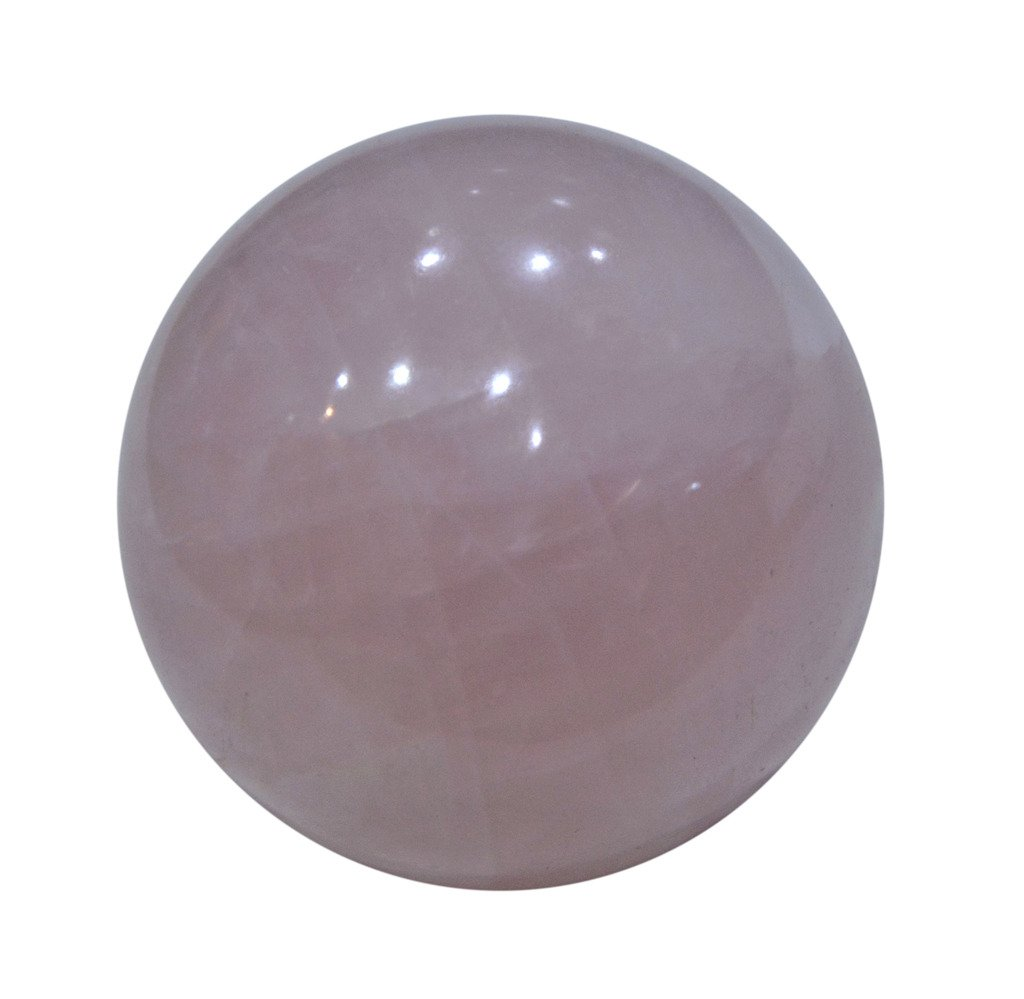 Aatm Healing Gemstone Rose Quartz Sphere Ball of Love & Relationship by Aatm (Image #1)