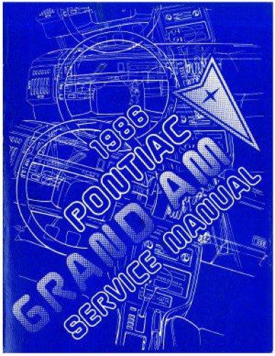 - S-8610N Used 1986 Pontiac Grand Am Service Manual