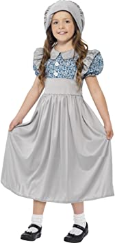 Amakando Ropa Colegiala Vestido Victoriano L 146/152 cm años 9 ...
