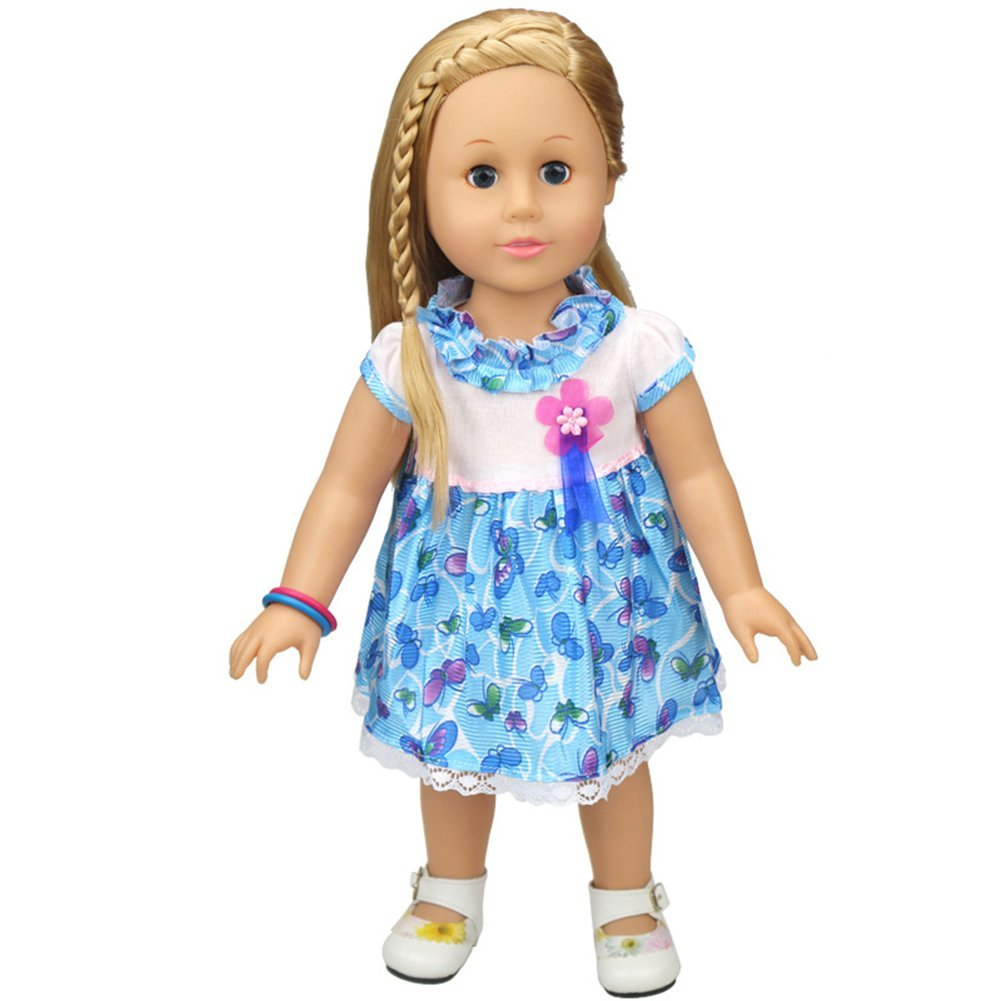 YYJCOnline American Girl Doll Dress Fits for 18  Doll