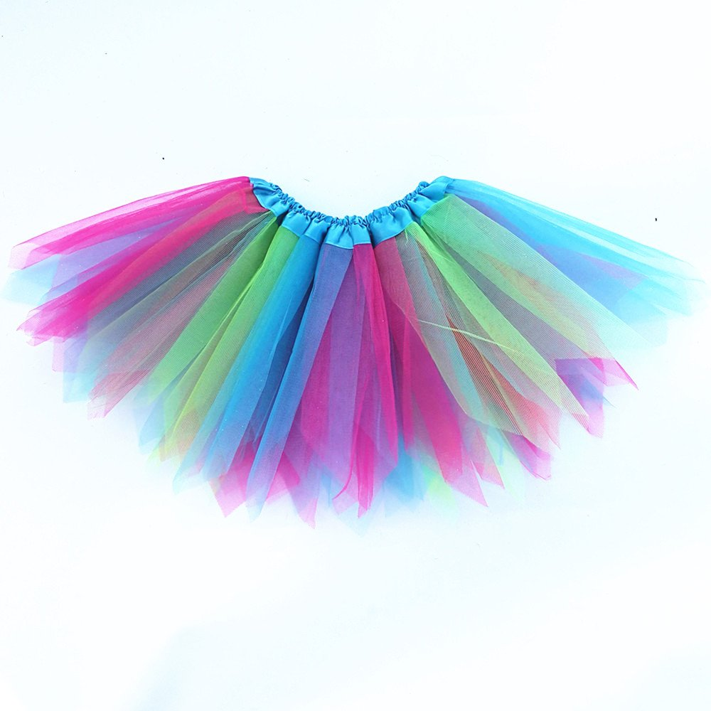 Danballto Princess Birthday Dress for Girl Party Tutu Dress Up Costume Butterfly Wings Halo Tutu Dress Fairy Wand